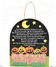 "1 Five Little Pumpkins"" Sign Craft Kit*Free S/H when u buy 6 items from my store"