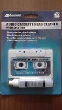 Audio Cassette / Tape Head Cleaner - With Fluid - NEW