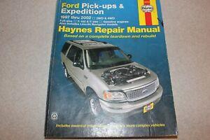 Haynes Ford Pick Ups Expedition Lincoln Navigator 1997 2002 Repair Manual 36059