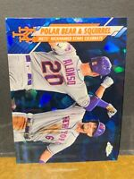 PETE ALONSO METS SP REFRACTOR 2020 TOPPS UPDATE CHROME SAPPHIRE *PACK FRESH* 290