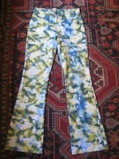 DUNIA V Front Yoga Pilates Exercise Pants Size L. As NEW