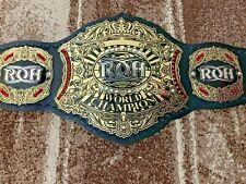 RING OF HONOR WORLD Wrestling Championship Belt.Adult Size.