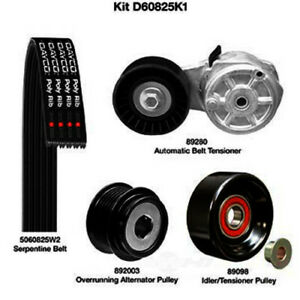 Serpentine Belt Drive Component Kit Dayco D60825K1
