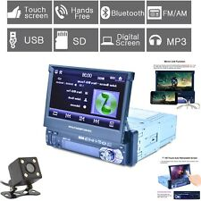 "7"" Autos Coche Bluetooth MP3 MP5 Reproductor de DVD 1 DIN (con la Cámara) HD Touch pantalla"