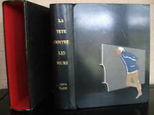 La tete contre les Murs. Herve Bazin - delinquency, Signed, Ltd de Luxe leather