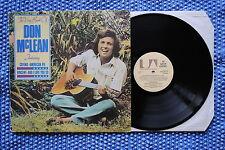 DON McLEAN / LP UNITED ARTISTS UAG 30314 / 1980 ( GB )