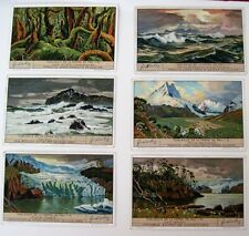 1935 Trade Card Set - Liebig's Fleisch-Extract - Views Tableaux de Terre De Feu*