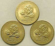 "UKRAINE, 10 Coins (PCS) x 1 HRYVNIA 2012 ""UEFA Euro 2012"" football - KM#668, UNC"