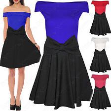 Unbranded Regular Size Sleeveless Skater Dresses for Women