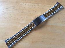 KREISLER FLEX-ON WATCH BAND BRACELET - P1T/2 Center Clasp 16-22mm Adjustable