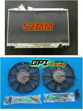 NEW fit Toyota Supra turbo Auto JZA80 2JZ-GTE 1993-1998 1997 Radiator &FANS