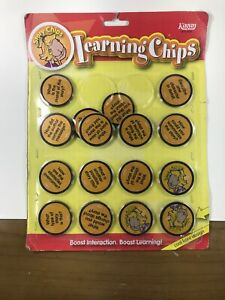 Kagan Celebration Chips Learning Chips Boost Learning Story Chips New