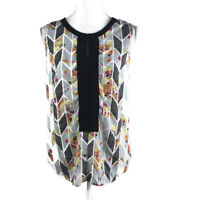 Cabi Womens Size XS Blouse Sleeveless Floral Style# 249