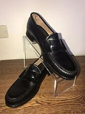 Cole Haan Pinch Penny Loafer Dress Shoes Black sz 10 Moc Toe Slip on Dress Shoe
