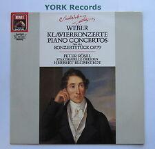 EL 27 0358 1 - WEBER - Piano Concertos No 1 & 2 ROSEL / BLOMSTEDT - Ex LP Record