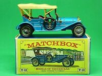 Matchbox Yesteryear Y12-2 1909 Thomas Flyabout In Type 'E' 'NEW MODEL' Box