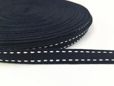 10Yards Of 10mm Soft Polyester Air Webbing Deep Blue Colours Straps Leads