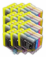 12 LC970 Bk/C/M/Y Ink Cartridges for Brother DCP-135C