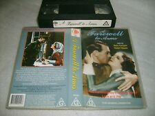 A FAREWELL TO ARMS (1932) - Australian CEL VHS Re-Issue Ernest Hemingway Classic