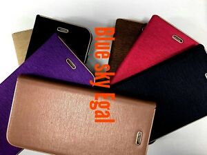 New Luxury Magnetic Flip Wallet Leather Case Cover For Huawei Phone P SMART 2017
