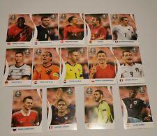 PANINI EURO 2020 Pearl Edition Coca Cola Stickers all 14(Hard Stickers)