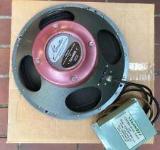 """Raro 12"""" Tannoy Rojo Controlador LSU/HF/12/U/15 Ohmios altavoz + Crossover vintage, verdes"""