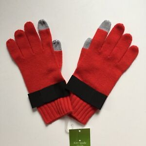 Kate Spade Ribble Tab Short Fairy Tale Red Glove, Size 0/S NWT