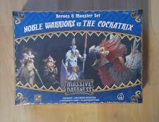 Massive Darkness Noble Warriors vs The Cockatrix CMON