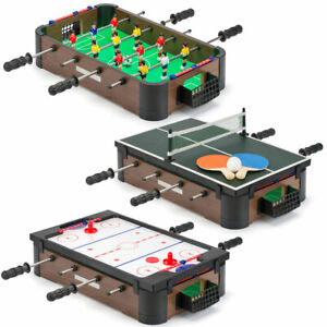 Table Top Games Mini Kids Football Family Fun Play 6 A Side Arcade Play Sets
