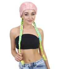 Adult Long Rainbow Braid Style Wig for Cosplay Kylie Inspired Boxer HW-1384A