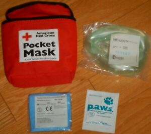 American Red Cross Pocket Mask - A CPR Barrier Device
