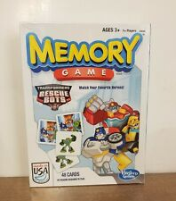 Hasbro Transformers Rescue Bots Memory Game - 48 Cards *NEW SEALED*