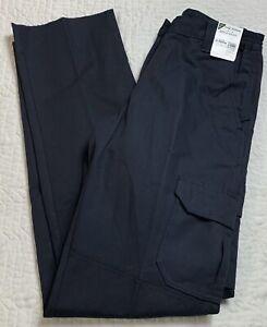 Horace L The Force Cargo Uniform Pants Security, EMT Blue Women Size 6, 36U