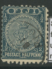 Fiji SG86 1896 1/2d slate grey Fine used