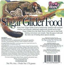 Pretty Pets Sugar Glider Food 12oz (Free Shipping in USA)