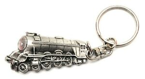 Flying Scotsman Steam Train Pewter Key Ring Gift Pouch FREE UK Delivery!