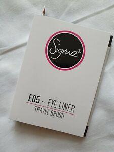 SIGMA E05 - Eye Liner Travel Brush New