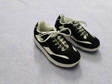 LA GEAR STEP-N-TONE Women'sTrotter Black Walking Exercise Shoes Size US 6.5