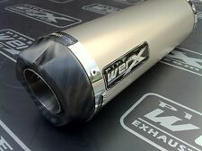 Suzuki GSXR 750 Y K1 K2 K3 K4 K5 Titanium GP Carbon Outlet Race Exhaust Can