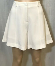 "Sz. 8 Rebecca Minkoff ""Santos"" Textured Shorts in Marshmallow $198"