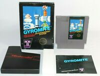 Gyromite NES Complete CIB Authentic Circle Seal Hang Tab 5 Screw Non-Rev A NICE!