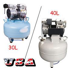30l40l Portable Medical Dental Air Compressor Noiseless Oil Less Oil Free Motor