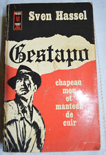 SVEN HASSEL GESTAPO CHAPEAU MOU ET MANTEAU DE CUIR 1972 POCKET