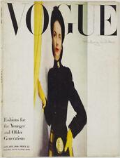 CECIL BEATON Norman Parkinson HATS Tamara Karsavina VOGUE magazine January 1946