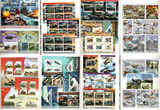War technique - tanks ships aircrafts vehicles stamp collection MNH in Album!!!