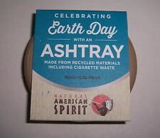 NATURAL AMERICAN SPIRIT CELEBRATING EARTH DAY PORTABLE ASHTRAY NEW!