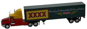 Kenworth T600A Linfox Truck with XXXX Beer Trailer Diecast Model-Truck-Red
