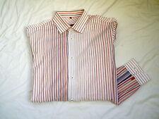 Signum Herrenhemd mehrfarbig gestreift ,Gr. M, 2x getragen , Neuwertig