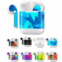 Skin Decal Protective Cover Wraps For AirPods Sticker Headphone Floral Decal