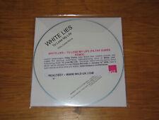 WHITE LIES - TO LOSE MY LIFE - UK PROMO CD SINGLE